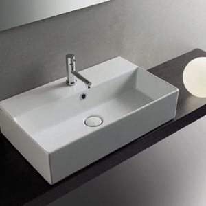 IN061 T-edge wall hung basin