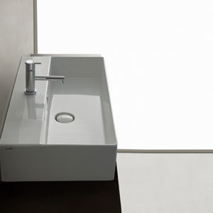 IN072 T-edge wall hung basin