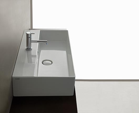 IN072 T-edge wall hung basin