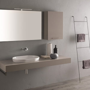 B6061 T-Edge Counter or Recessed Basin