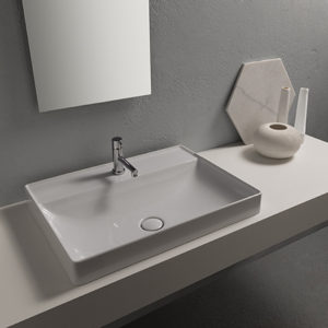 B6R62 T-Edge Recessed Basin