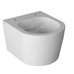 FOS06 Forty3 Short Rimless Wall Hung WC