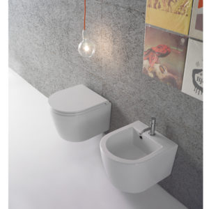 FOS12 Forty3 Wall Hung Bidet