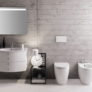 MD004 4All Floor Mount Rimless WC