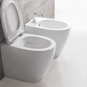 MD004 4All Rimless Floor Mount WC