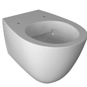 SBS05 Bowl+ Rimless Wall Mount WC