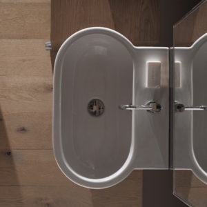 SC060 Bowl+ wall hung basin