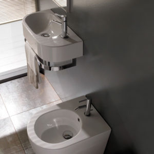 SCT55 Forty3 Wall Hung Basin
