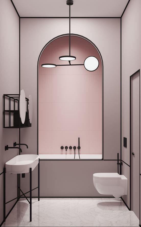 black matt basin toilet wc