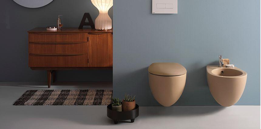 COLOURS _02. Ceramic sanitaryware. Globo.
