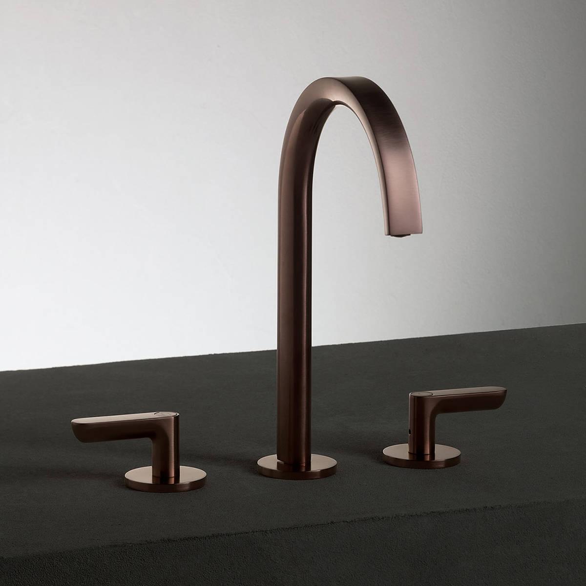 Art. R107 Icona Deco 3-hole basin mixer - Lavo Bathrooms and ...