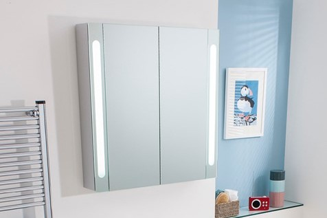 electric mirror cabinet