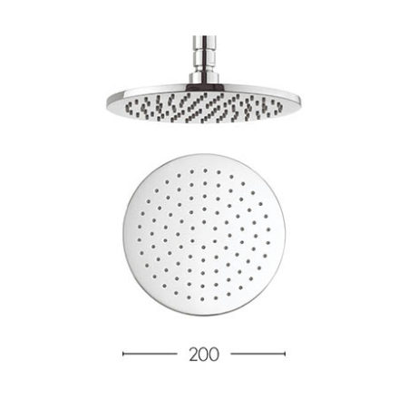 contour 200mm shower head