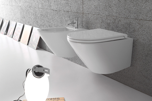 forty3 rimless wc & bidet