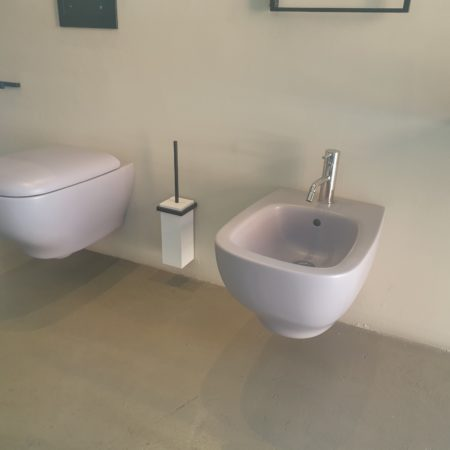 genesis wall hung wc with slow close seat