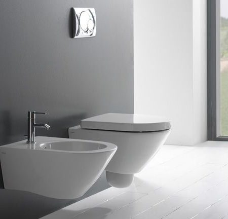concept wall hung wc with normal close seat