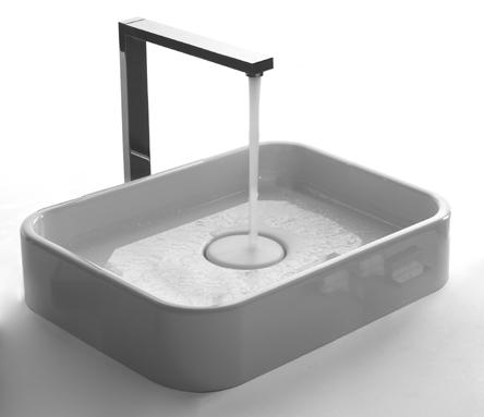 space free counter basin