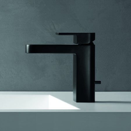 mare basin mixer matt black