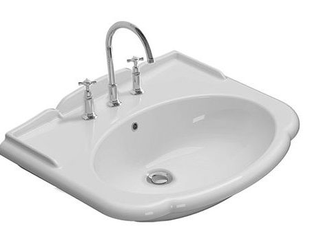 paestum wall hung basin