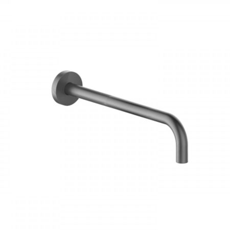300mm matt black shower arm